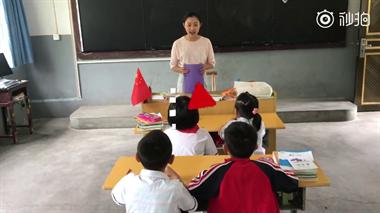 她的美术课只有4个孩子,衢州这个90后娜妮火了!