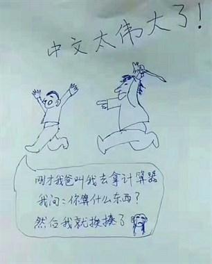 中文太伟大了!