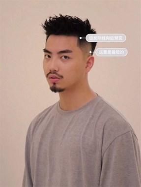 发质又粗又硬,不知道剪什么头发?留这款短发最帅!