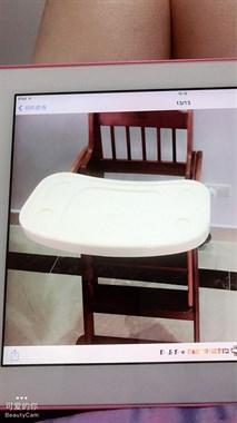 【转卖】转让全实木宝宝桌椅