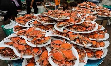 这场婚宴火了!1400只螃蟹堆成山…德清人:我想去随份子