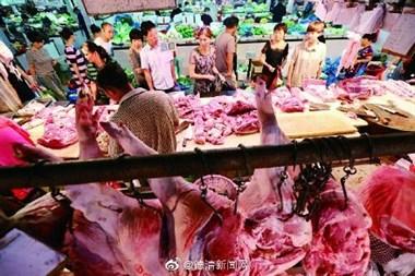 乾元长桥农贸市场,每斤五花猪肉才卖25元,在德清算便宜?
