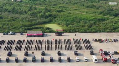 南太湖有大批警察集结!1千名公安特警,16支反恐队伍整装待发