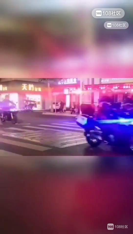 大行动!半夜嵊州嘎多警车出动,现场视频燃爆了
