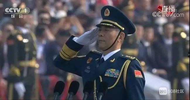 昨日国庆阅兵场超100名将军亮相,《战狼2》原型担任领队