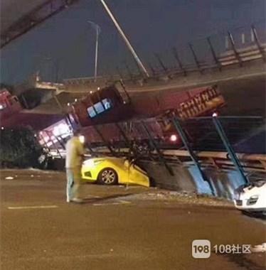 无锡高架坍塌致3死2伤!母女俩被压桥下…多人逃生后大哭