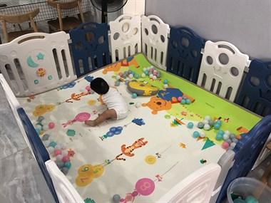【转卖】宝宝爬行垫和围栏