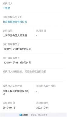 """王思聪公司股权再遭冻结,只能""""被迫""""继承千亿家产?"""