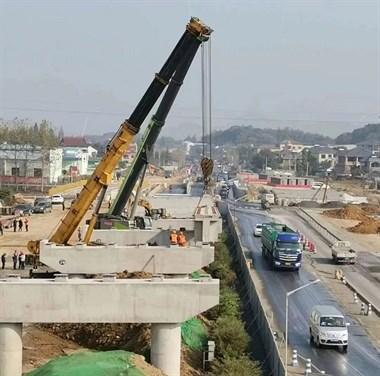 喜大普奔!104国道高架桥有新进展,预计2020年底通车