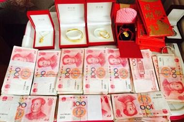 椒江男娶温岭女,彩礼收20万不退,正常吗?