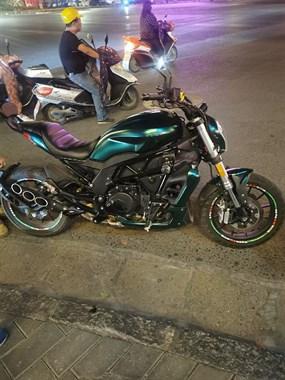 【转卖】摩托车贝纳利502c