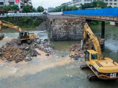 大唐这座桥要拆了,2月份前都要封道,附近的路也要封
