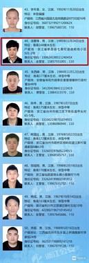省公安厅悬赏通缉50人,绍兴3人上榜悬赏5万!