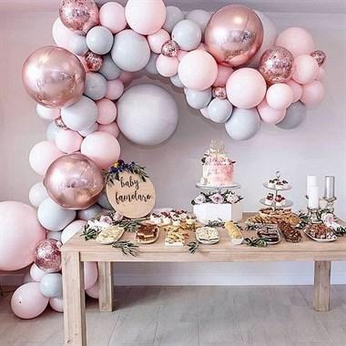 勇沁满月宴气球布置工作室