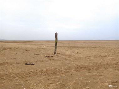 地都旱得开裂了!鄱阳湖干枯 我国最大淡水湖变河沟
