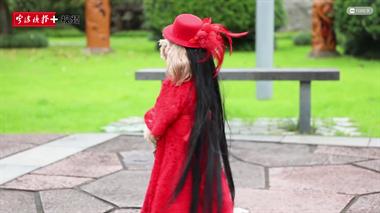 这条泰迪狗穿上红裙就能直立行走3公里!有人出价2万,结果...