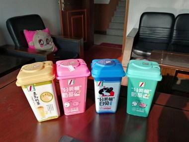 跟上时代就能赚钱,奶茶也变身垃圾桶!