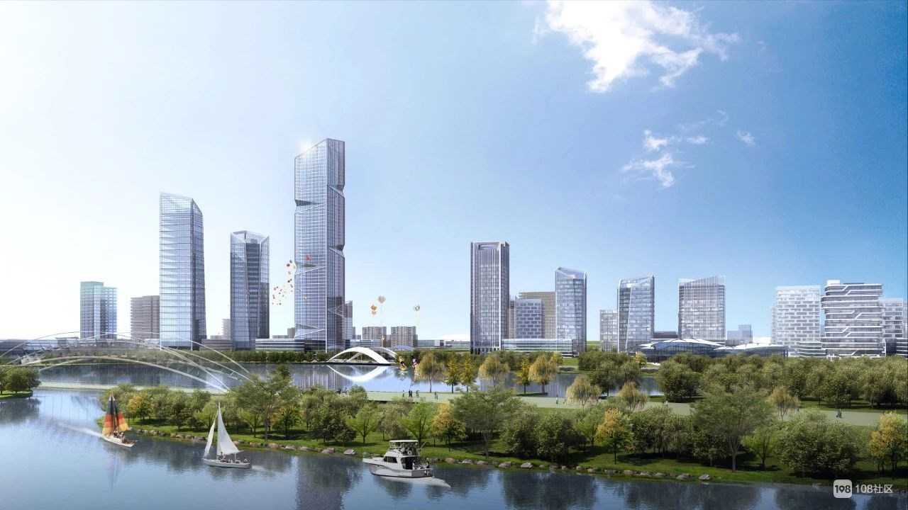 最新!南太湖新城规划图曝光,长兴人都看好这里!