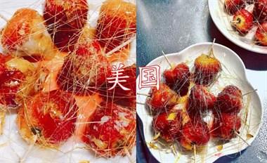 盘点各国的糖葫芦,日本像棒棒糖,美国会拉丝,看到中国:有灵魂
