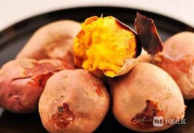 冬天的的味道——烤红薯不用烤箱照样能做