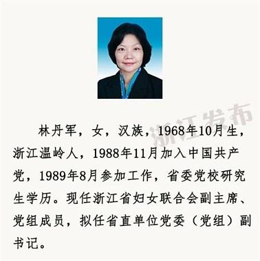 公示已发布!这个温岭女人你认识吗?要在省里…