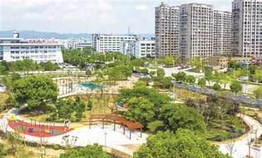 双塔公园、剡乐园、刘阮公园!嵊州市这三个公园有名字了