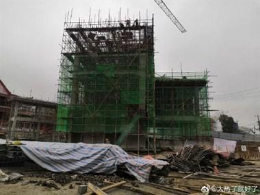 再也不担心下雨涨水了!茶山麻园岭排涝站主体框架即将完工