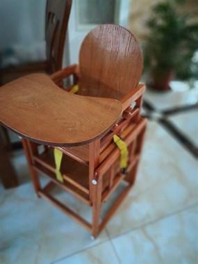 【转卖】宝宝实木餐椅