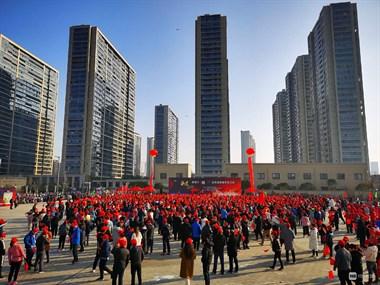 美妙三公里有大事,现场聚集上千人!市里领导都来了