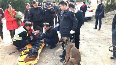 8旬老人在嵊州走失,公安连夜搜寻无果,出动警犬…