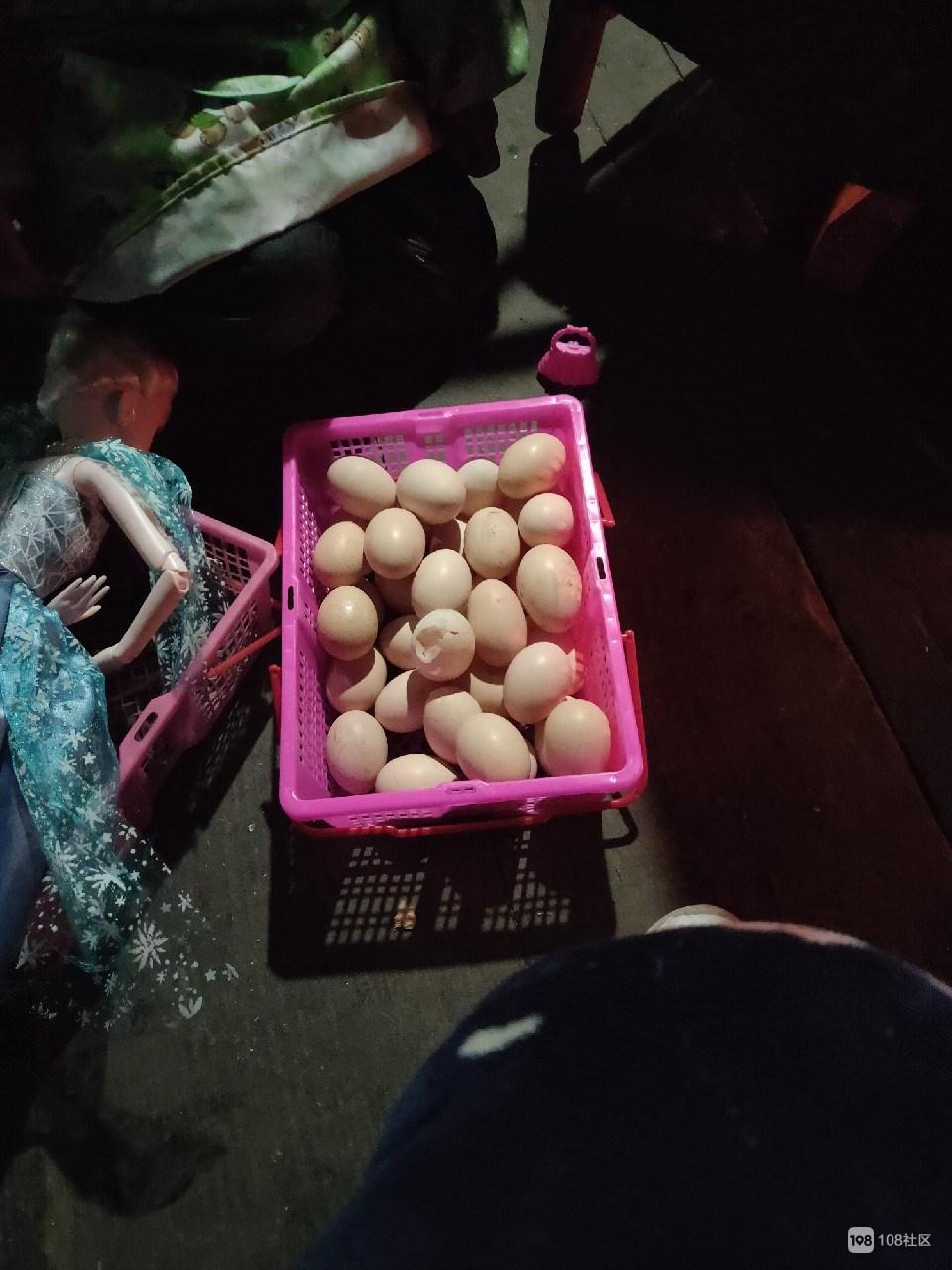 老家这土鸡蛋太正宗了,好多双黄蛋,而且才1.5元1个