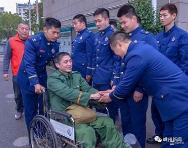 """嵊州黄泽的一位特殊老兵,退伍16年,终于""""回家""""了"""