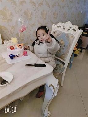 宝贝3周岁生日快乐