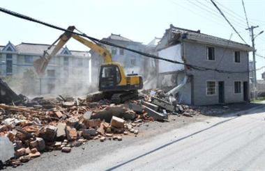 54396平米!景德镇这地方全年共拆除违建121处!