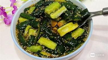 自己腌制的黄瓜总不脆?制作时加1步,爽脆更入味耐存放