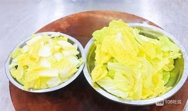 大白菜炒粉条这么做,粉条不坨不粘锅,白菜清淡不油腻,简单下饭