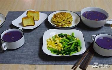家有学生和老人,早餐全都在家吃,8天8种搭配,营养好吃不会腻