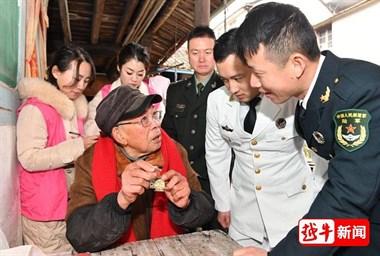 关爱老兵,他们是最可爱的志愿者!