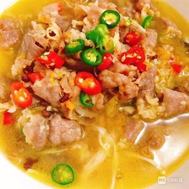 好吃到汤都喝了的一道菜——酸辣肥牛