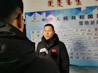 这个天台人带队创造新历史 浙江队雪地足球队勇夺全国冬运会亚军~
