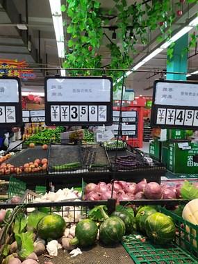 超市奇遇:青南瓜卖西兰花价