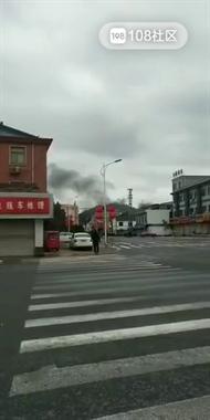 揪心!绍兴某医院对面突发火灾,黑烟滚滚遮住半边天