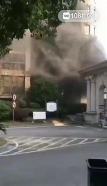 长兴人疯传的这个爆炸视频,是假的!消防部门已回应