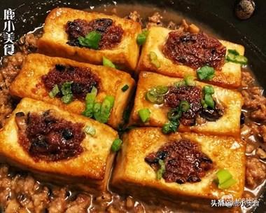 做酿豆腐,总是松散还掉肉?老师傅教你2个操作,豆腐完整肉脆嫩