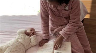 父亲抗疫,小学生照顾弟写带娃日记