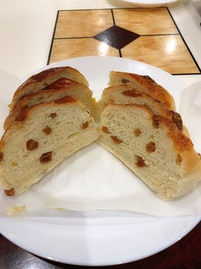 天台小伙给老婆做面包试水成功