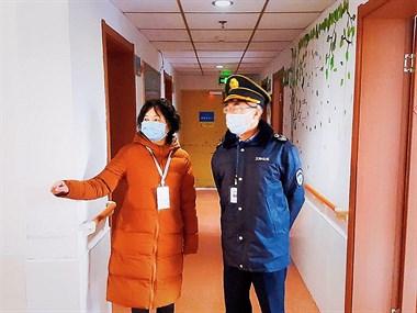 【联防联控战疫情 康久养老真放心】