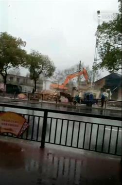 陶溪川附近的这些房子全被拆光了!现场已成一片废墟