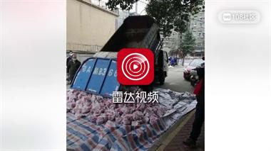 用环卫车送平价肉?武汉副区长被查!两人被免职