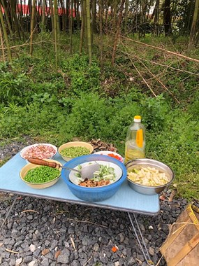最近好多人去户外做野饭!德清宁小时候的味道,你还记得?